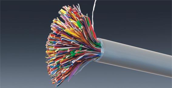 大对数电缆-综合布线系统-常州监控 监控安装 电子